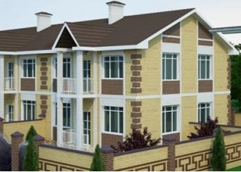 5 этажный дом с 13 кв и 7 торговых точек