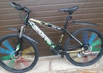 Горные велосипеды на спицах и дисках