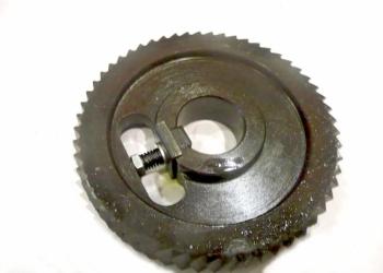 Ролик подающий, приводной зубчатый (рябуха) 120х30х20 мм