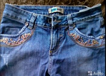 джинсовые бриджы
