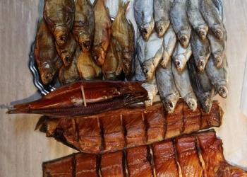 Вяленая и копчения рыба