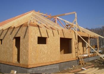 Строительство дачного, садового домика, домов и коттеджей из сип панелей