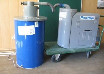 Пылесос промышленный Panther, питание трёхфазное 380V