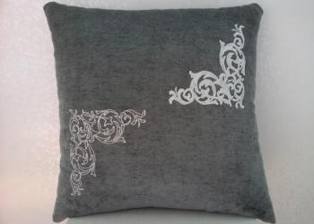 Подушка с вышивкой «Узоры1»