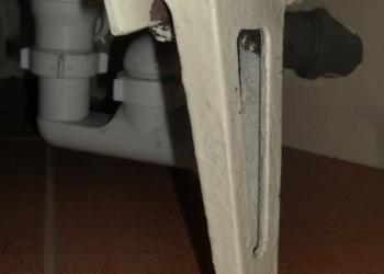 Ножки для старой советской чугунной ванны