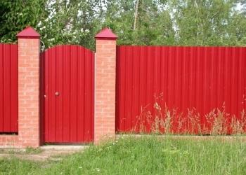 Забор, Ворота, Калитки, Навесы