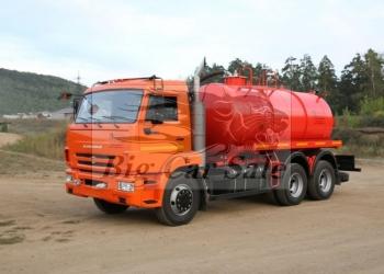 Автоцистерна вакуумная АКН-10 КАМАЗ 65115