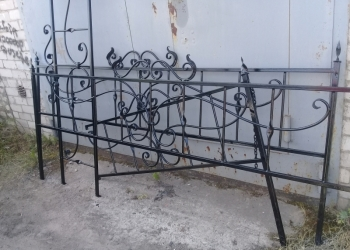 Оградка ритуальная