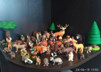 Комплект из 60 журналов и животные леса в комплекте