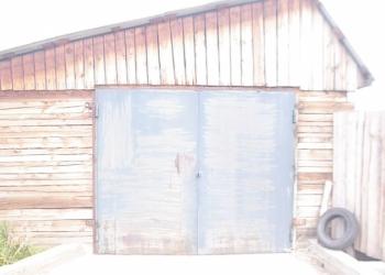 Капитальный гараж из бруса на вывоз