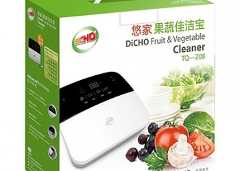 Электроприбор для очистки фруктов и овощей DiCHO модель TQ-Z08 (Озонатор)