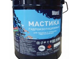 Мастика битумно-полимерная гидроизоляционная холодная МБПГХ BITAREL
