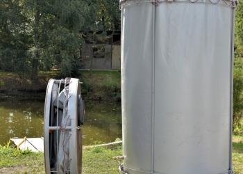 Резервуар разборный, вертикальный в защитном пенале Объем 2,15 и 3,10 м3