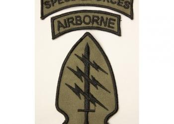 Нашивка тактическая «U.S.ARMY SPECIAL FORCES»