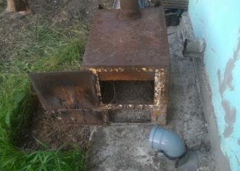 Печь металлическая для обогрева помещений БУРЖУЙКА