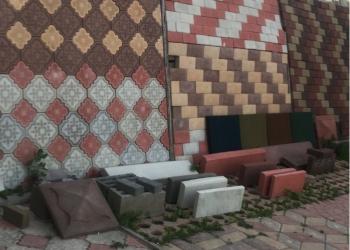Тротуарная плитка и брушатка