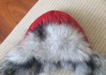 Меховая шапка для девочек