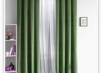 Роскошные шторы с тюлем высокого качества