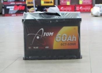 Продаю аккумулятор 6ст-60 атом