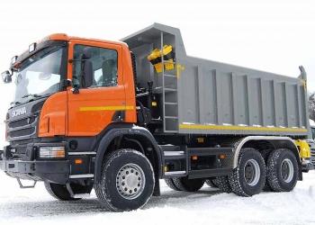 Аренда самосвал Scania