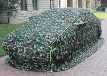 Портативный гараж. Утепленный автомобильный чехол
