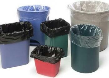 Мешки для мусора 30л 60л 120л 180л 240л ПВД ПНД пласты ролики