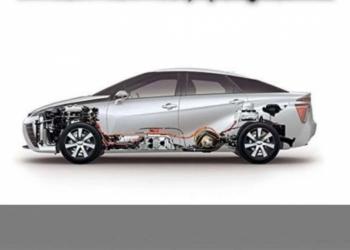 Высоковольтная батарея для гибридных автомобилей.