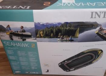 Надувная 2-х местная новая лодка.7000 рублей.