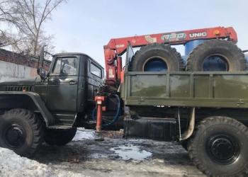 Манипулятор на базе Урала