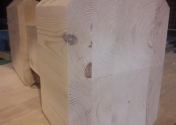 Брус клееный стеновой профилированный