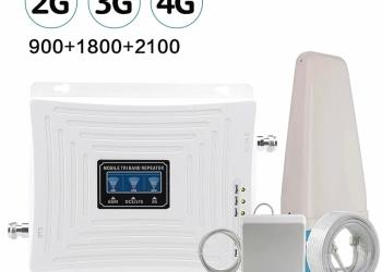 Усилитель сотовой связи 2G 3G 4G 3В1