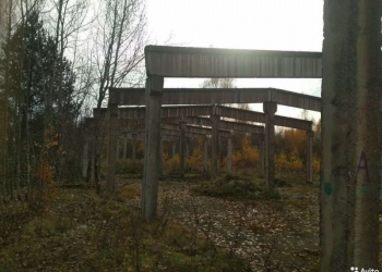 Срочно! Продается земельный участок с железо-бетонным каркасом