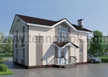 Строим дома-монолиты в облицовочной опалубке ТЕХНОБЛОК