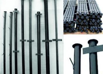 Сетка рабица, столбы металлические, заборные секции с бесплатной доставкой