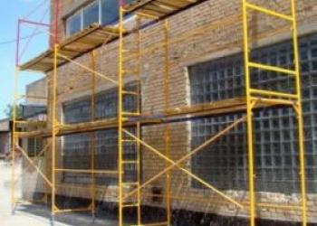 Продажа, аренда лесов строительных для фасадных работ, сборно-разборных вышек