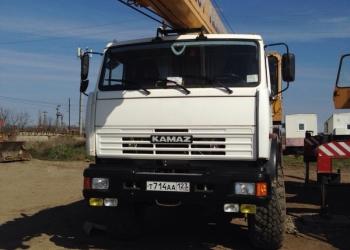 Автокран КАМАЗ КС-55713