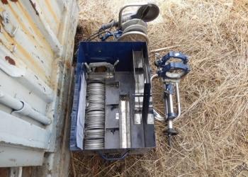 Продам Аппарат для сварки полиэтиленовых труб. Стыковочный. Паяет до 110д. Б/у.