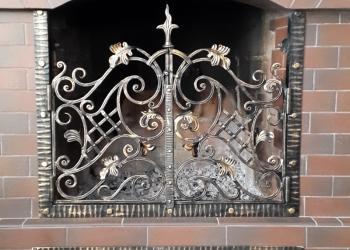 Каминные решетки кованые