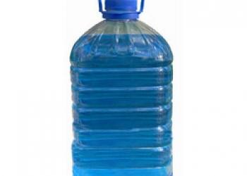 Жидкость для стеклоомывателя