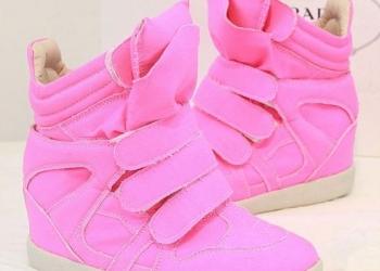 Розовые ботиночки (новые)
