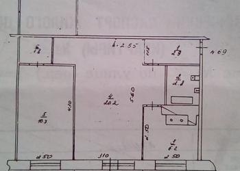Продам 3-х комнатную  квартиру, 57 м2, 3/5 эт.район ш. 12