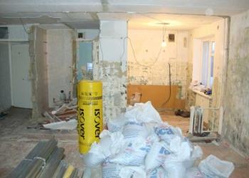 Демонтаж, снос старых строений, стен, перегородок.