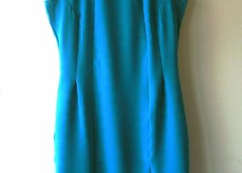 Платье миди новое бирюзовое