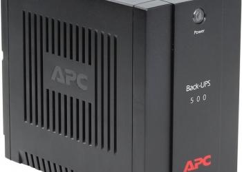 Источник бесперебойного питания APC BACK-UPS500о