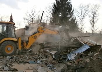 Приму строительный мусор после демонтажа, слома, сноса бетонный бой, бой кирпича