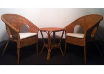 Плетеная мебель и интерьер