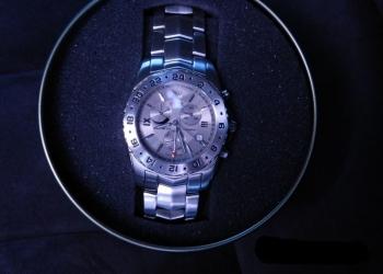 Швейцарские мужские часы ROAMER Stingray Alarm GMT