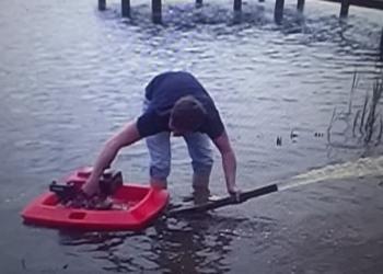 Плавающая автономная помпа