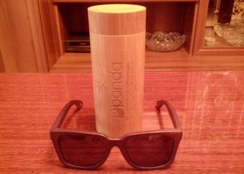 Солнцезащитные очки из натурального бамбука