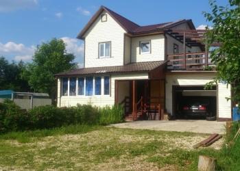 Продается двухэтажный жилой дом площадью 150 м² с земельным участком в 10 соток